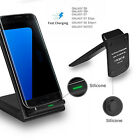 1pc 3 Coils Qi Wireless Fast Charger Stand Dock Pad For Samsung S7/S6 Edge Phone