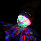 E27 3W RGB Crystal Auto Rotating LED Light RGB LED Party Stage Bulb Lamp SY