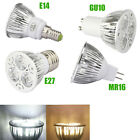 5PCS GU10/MR16/E14/E27 Dimmable Bulbs 9W LED Lamp Spotlight Warm /Cool White
