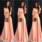 Women Long Cocktail  Gown Party Prom Wedding Bridesmaid Evening Formal Dresses