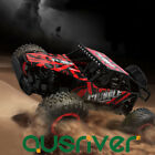1/16 Scale Electric Powered Rock Racer Crawler Off-Road RC Buggy Car Toy Gift