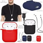 Silicone Shock Proof Protective Cover Case Slim Skin for Apple AirPod Charger