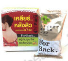 Japan Volcano Charcoal Soap With Japan Orange For Back Reduce Acne Back 30g New