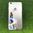 Basketball  Player Stephen Curry Silicone Phone case for iPhone X 8/6/7 Plus 5s
