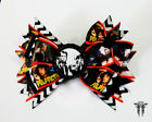 Pulp Fiction Film Scene Stacked Handmade Hair Bow with Vincent and Jules