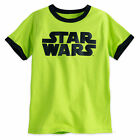 Disney Store Star Wars Logo Boys T Shirt Size Large 10/12 New