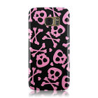 SKULL AND CROSSBONES PATTERN PRINT ON CASE FOR SAMSUNG GALAXY MOBILE PHONES