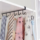 6 Hooks Cup Holder Hang Kitchen Cabinet Under Shelf Storage Rack Organizer UK
