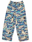 Made with Love and Kisses Boys Fuzzy Plush Pajama Loungewear Pants, Size 2-14