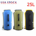 Waterproof Drift Dry Bag 25L Roll Top Handle Backpack Rafting Drifting Kayaking