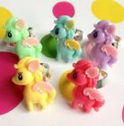 CUTE KITSCH KAWAII RETRO 80S STYLE TOY PASTEL MY LITTLE PONY ADJUSTABLE RING