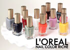BUY 2 GET 1 FREE!(Add All 3 To Cart)Loreal Colour Riche Nail Polish (YOU CHOOSE)