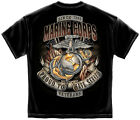 US MARINE CORPS T SHIRT MILITARY USMC PROUD TO HAVE SERVED VETERAN TEE S-XXXL