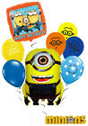 Minions Kids Birthday Balloon Bouquet Party Decorations
