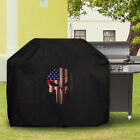 Waterproof Barbecue Cover Universal American Flag Skull eagle pic3 BBQ