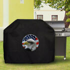 Waterproof Barbecue Cover Universal American Flag Skull eagle pic8 BBQ