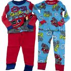 Blaze and the Monster Machines Trucks L/S Pajamas Toddler Boys Sz 3T 2 Sets