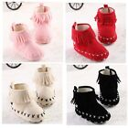 Baby Boots Flat Comfort Ankle Soft Sole Fashion Cute Moccasins Style Crib Shoes