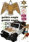 Daisy's Jeep Decals 1:10,1:18, 1:24, 1:25 or 1:32 scale Dukes Hazzard slot rc