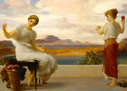 Winding The Skein - Frederic Leighton Print - Various Sizes Paper or Canvas.