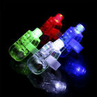 A 10pcs LED Light Up Flashing Finger Ring Party Night Club Laser Beam Torch Glow