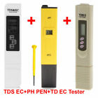 new LCD Digital TDS-3 EC Water PH Pen Meter Tester temperature Monitor Tool ppm