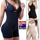 AU Women Full Body Shaper Corset Tummy Control Waist Cincher Shapewear Bodysuit