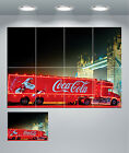 Coca Cola Christmas Lorry Truck Coke Xmas Giant Wall Art Poster Print £9.5  on eBay