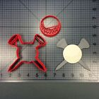 Golf Ball 101 Cookie Cutter Set