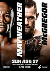 FLOYD MAYWEATHER v CONOR McGREGOR BOXING 33 POSTER PHOTO PRINT