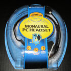*NEW PLANTRONICS MONAURAL PC Analog Headset .AUDIO 20 Noise-Canceling Microphone
