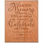 Wedding Anniversary Wall Plaque Gifts for Couple