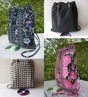 Drawstring Backpack Swimming Backpack Riding Bag Quilted Cotton Free Shipping