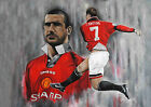 ERIC CANTONA 37 (MANCHESTER UNITED) MUGS AND ART PHOTO PRINTS