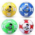 Kids Children PU leather Exercise Training Soccer Ball Outdoor Sports Football