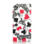 DYEFOR CASINO PLAYING CARDS COLLECTION PHONE CASE COVER FOR SONY XPERIA