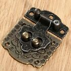 1/5pcs Chic Embossing Jewelry Box Gift Case Wooden Chest Cabinet Hasp Lock Latch