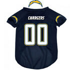 NFL Pet Fan Gear SAN DIEGO CHARGERS Dog Jersey Shirt Tank for Dog Dogs Puppy $19.98 USD on eBay