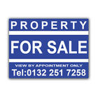 Property FOR SALE Correx Sign Boards Estate Agent House Signs X 2 (CORCP00028)