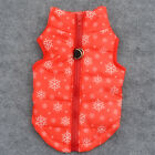 Cat Dog Pet Winter Warm Jacket Coat Outdoor Quilted Padded Vest Puppy Costume