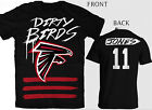 ATLANTA  FALCONS    DIRTY BIRDS JERSEY STYLE T SHIRT JONES RYAN