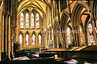 "SOUTHWELL MINSTER HIGH ALTER EAST STAINED GLASS WINDOW  6""x 4"" PRINT SL131"