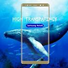 2Pcs 3D 9H Full Cover Tempered Glasses Screen Protector For Samsung Galaxy Note8