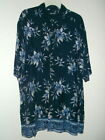 NEW HIBISCUS JUNGLE HAWAIIAN SHIRT by PURITAN size XL