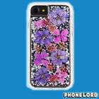 Genuine Case Mate Naked Tough Karat iPhone 6 6S 7 8 PETALS Purple NEW cover
