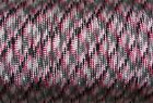 550 Pink Camo Paracord Type III 7 Strand Parachute cord 50,100 ft - MADE IN USA