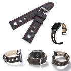 Retro Quick Release Leather Watch Band Wrist Strap For Fossil Q Founder Gen 1/2