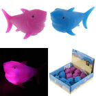 SHARK TOY SQUIDGY LIGHTS UP STOCKING FILLER PARTY BAG SHARKS KIDS FUN GAME NEW