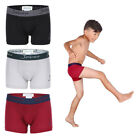 Boys Boxer Briefs Cotton Underwear For kids Toddler and Teens 3 Pack Assort