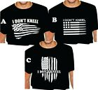 I DON'T KNEEL AMERICA T SHIRT USA adult s m l xl 2x 3x 4x 5x